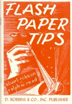 Flash Paper Tips (Robson, Read)