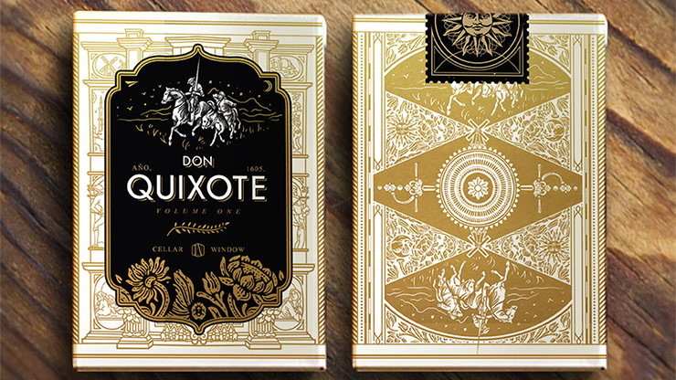 Don Quixote Vol. 1 (Don Edition) Playing Cards