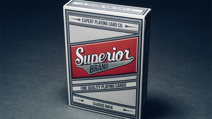 Superior (Red) Playing Cards by Expert Playing Card Co