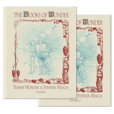 Books of Wonder Volumes 1-2 by Tommy Wonder (2 Books)
