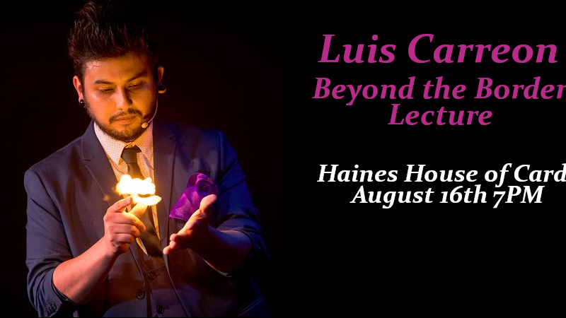 Beyond the Border Lecture – Luis Carreon