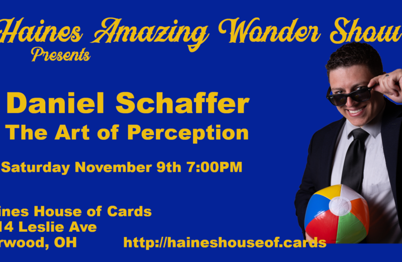 The Art of Perception with Daniel Shaffer