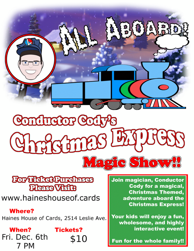 Conductor Cody's Christmas Express