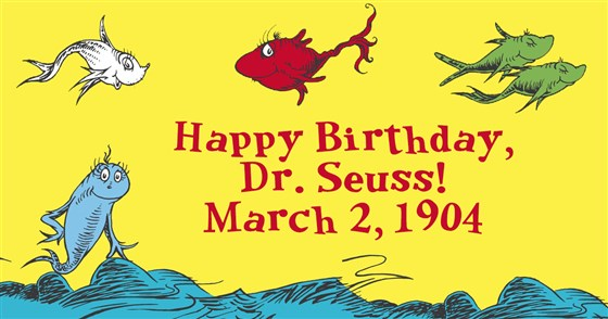 A Tribute to Dr. Seuss' Birthday!